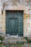 Door in Costa Brava royalty free stock images