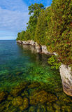 Door County Coastline Stock Images