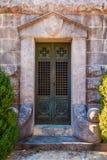 Door of crypt Stock Image