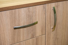 door cupboard close up Royalty Free Stock Photos
