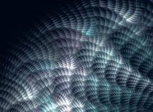 Door de computer geproduceerd fractal beeld met een grafische abstractie Stock Afbeelding