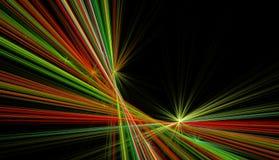 Door de computer geproduceerd fractal beeld met een lineaire abstractie Royalty-vrije Stock Foto