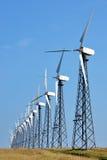 Door de wind aangedreven generator royalty-vrije stock foto's