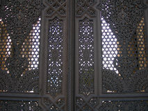 Door decor at a mosque entry Royalty Free Stock Photography