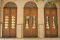 A door decorated Royalty Free Stock Images