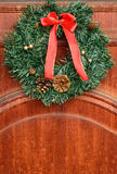 Door decoration for Christmas Royalty Free Stock Photos