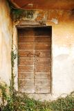 Door in Derelict Farming Building Royalty Free Stock Photos