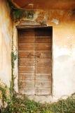 Door in Derelict Farming Building Royalty Free Stock Photos