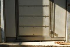 Door design of workshop in ayutthaya Stock Images