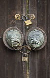Door detail Royalty Free Stock Photos