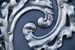 Door detail Royalty Free Stock Images