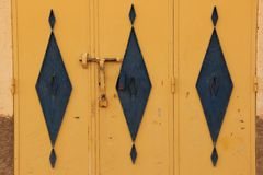 Door Detail Royalty Free Stock Photo