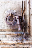 Door detail of the Holy Sepulchure Royalty Free Stock Photo
