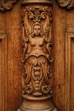 Door detail Royalty Free Stock Images