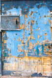 door  deteriorated by the weather Royalty Free Stock Photos