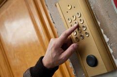 Door with digicode Stock Images