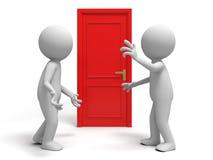 The door Stock Image