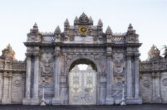 Door of Dolmabahce Palace Stock Images