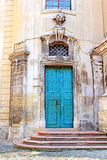Door of Dominican Cathedral in Lviv Stock Photo