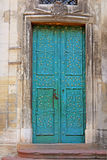 Door of Dominican Cathedral in Lviv Stock Images