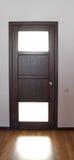 Door with door handle Royalty Free Stock Photography