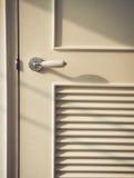 Door with Door Handle Modern classic style Royalty Free Stock Photo