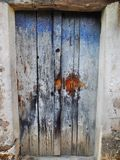 Door.el maharka.jijel - algeria royalty free stock image