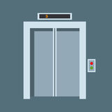 Door elevator vector illustration entrance doorway home house interior exit design architecture entry set enter object Royalty Free Stock Photo