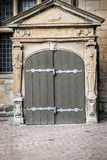 Door at Elsinore Castle, Denmark Stock Images