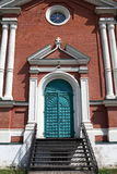Door of exaltation of the Cross cathedral Royalty Free Stock Photography