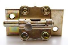 Door fastener. For on white background stock photo