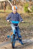 Door fiets Stock Afbeelding
