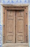 Door. Finely wooden carved door at Tash Khovli Palace, the summer residence of Khivan Khans, at Itchan Kala, Khiva, Uzbekistan. Itchan Kala is the walled inner Stock Images