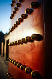 Door of forbidden city Royalty Free Stock Photo