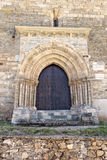 The Door of Forgiveness in Villafranca del Bierzo Royalty Free Stock Images