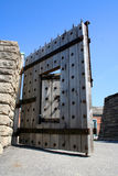 Door of fortress. In Toronto royalty free stock photos