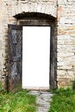 Door of fortress Stock Photos