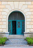 Door Frame with steps Royalty Free Stock Photography