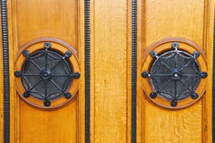 The door is framed Royalty Free Stock Photography
