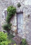 Door in France. Door of an old building in France royalty free stock photo