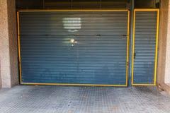 Door of garage Royalty Free Stock Photo
