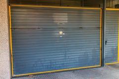 Door of garage Royalty Free Stock Photography
