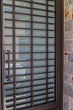 Door of garage Stock Images