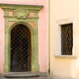 Door or gate Stock Photo