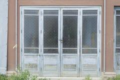 Door with glass Stock Photos