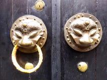 Door-god doorknob Stock Photo
