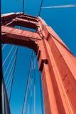 Door Golden gate bridge royalty-vrije stock afbeelding
