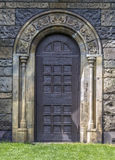 Door in the Gothic style Royalty Free Stock Image