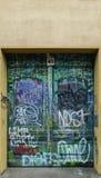 Door Graffiti Stock Photo