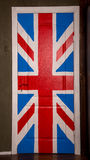 Door with great britain flag Stock Image